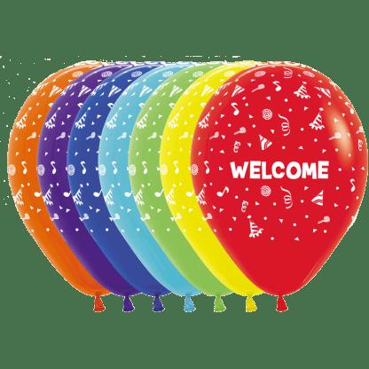 Sempertex Ballons Willkommen Fashion