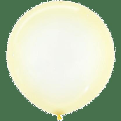 Sempertex Ballons Crystal Pastel Gelb 60 cm