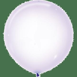 Sempertex Ballons Crystal Pastell Lila 60 cm