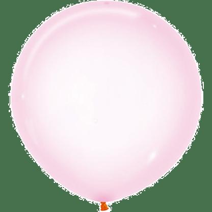 Sempertex Ballons Crystal Pastel Rosa 60 cm