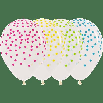 Sempertex Ballon Konfettiballons bunt