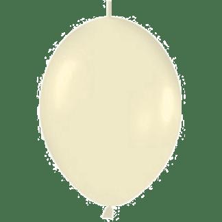 Sempertex Link O Loon 15 cm Pearl Elfenbein