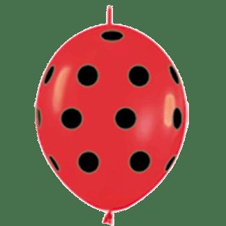 Sempertex Link O Loon 15 cm Rot Marienkäfer