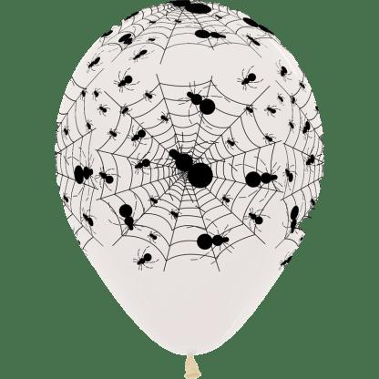 Sempertex Ballon Spinnennetz durchsichtig