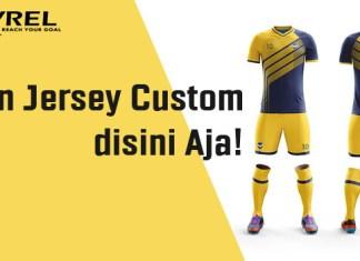 Bikin Jersey Custom Disini Aja