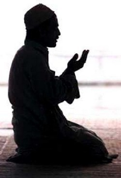 Man saying dua