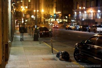 A drunk man passed out on the sidewalk in downtown San Francisco. How are we Muslims supposed to treat such people?