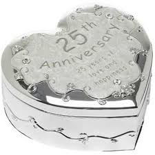25th anniversary heart
