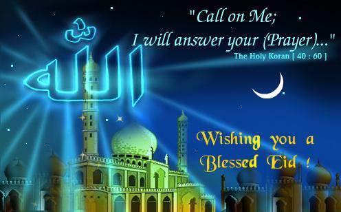 Happy Eid, Blessed Eid