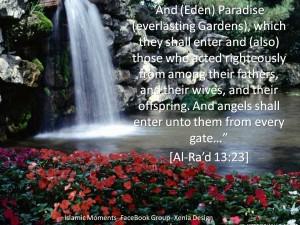 heaven paradise Jannah
