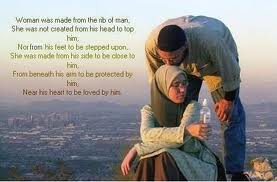 couple in islam, woman in islam