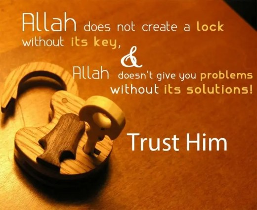 There is a solution to every problem