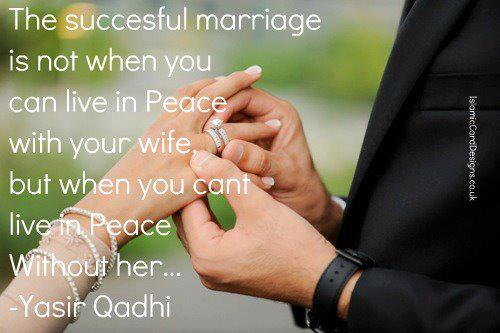The Successful Marriage