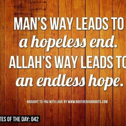Hope versus Hopelessness