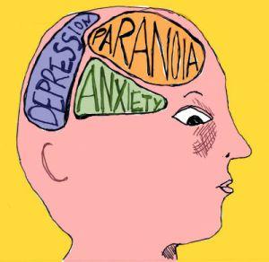 Mental illness symptoms.