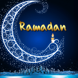 Ramadan crescent moon