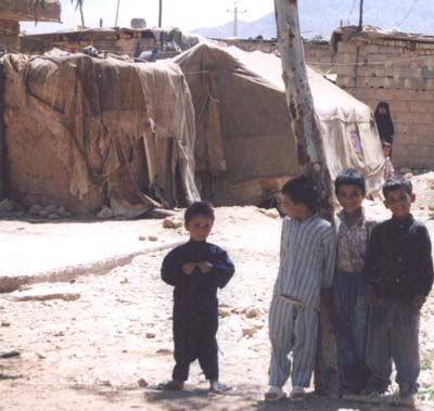 Iraqi refugee children