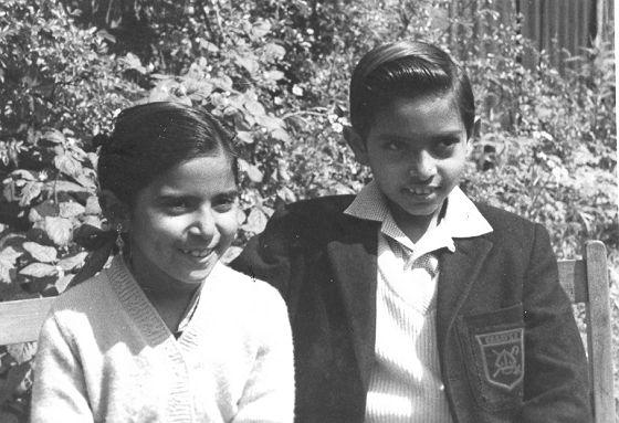 First Gujarati Muslim school children in Gloucester