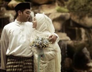 A Malaysian Muslim couple