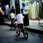Cairo boys on bikes