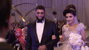 South African Muslim wedding couple Fatima and Ziyad