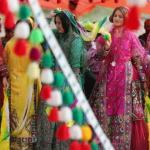A traditional Qashqai wedding in the village of Rud-e Faryab in Bushehr province