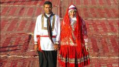 A traditional wedding in the village of Adineh Qoli in North Khorasan.