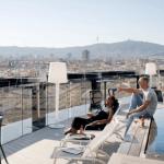 Widok z hotelu Barcelo