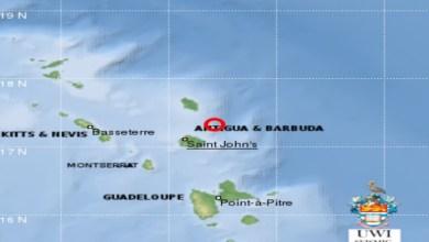 Photo of #ZayActu : Nouveau séisme de magnitude 4.6 à Antigua-et-Barbuda   ZayRadio.org
