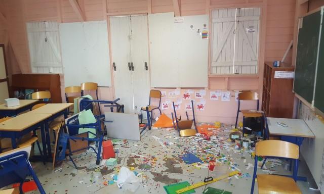 #ZayActu : L'école primaire JB Rouam des Terres-Sainville à Fort-de-France a été vandalisée   ZayRadio.org