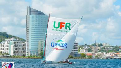 Photo of La yole robertine UFR Chanflor remporte le prologue à Fort-de-France