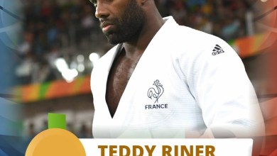 Photo of Le guadeloupéen Teddy Riner double champion olympique à Rio