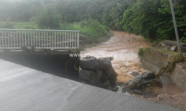 inondations sainte marie