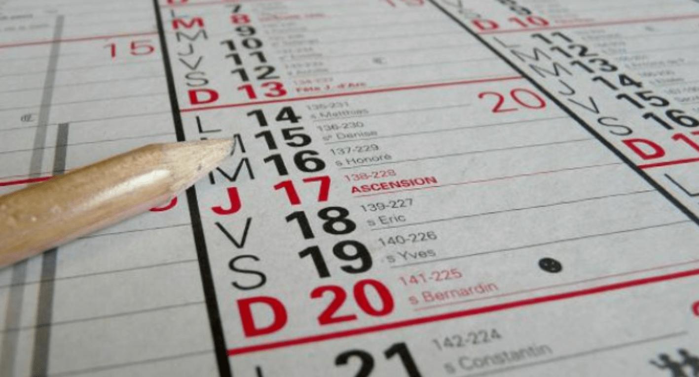 Jours fériés: 2018, année propice aux ponts et aux week-ends prolongés