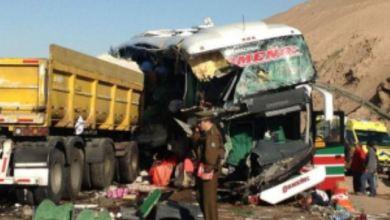 Photo of Haïti : Un accident de la route entre un bus et un camion fait 20 morts et 50 blessés