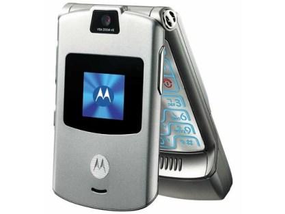 Motorola V3 sortie en 2004