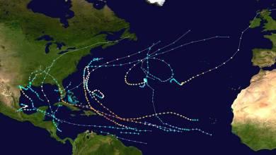 Photo of Fin de la saison cyclonique. 6 ouragans majeurs se sont formés dont 2 de catégorie 5