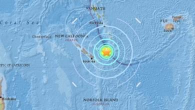 Photo of Séisme au large de la Nouvelle Calédonie : les bandes côtières évacuées