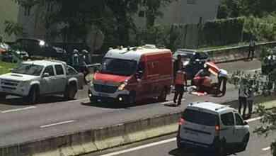 Photo of Un piéton renversé par une voiture entre l'Etang z'Abricot et l'échangeur de Chateauboeuf