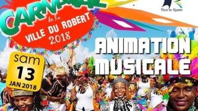 Photo of Carnaval 2018 : animation musicale au Robert avec le Gwoup 231 et Kazak de la Guadeloupe
