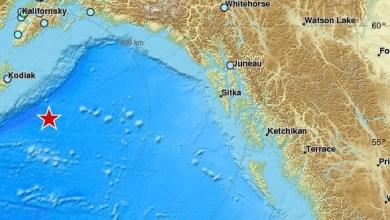 Photo of Puissant séisme de magnitude 8,2 en Alaska. Alerte tsunami déclenchée