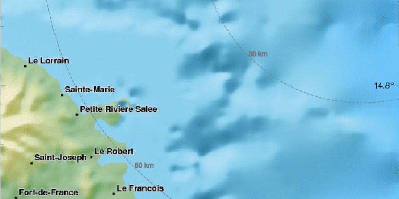 Séisme Martinique 25 février 2018