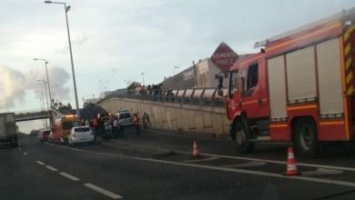 Photo of Un accident de moto au niveau du pont de la Lézarde au Lamentin fait un mort