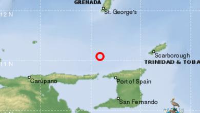 Photo of Plusieurs séismes modérés enregistrés non-loin de Trinidad and Tobago