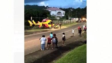 Photo of Une collision entre deux voitures fait 3 blessés dont un grave à Rivière-Salée