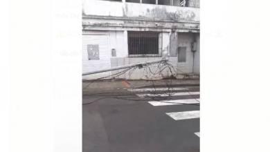 Photo of Des câbles électriques arrachés dans le bourg du Saint-Esprit (VIDÉO)