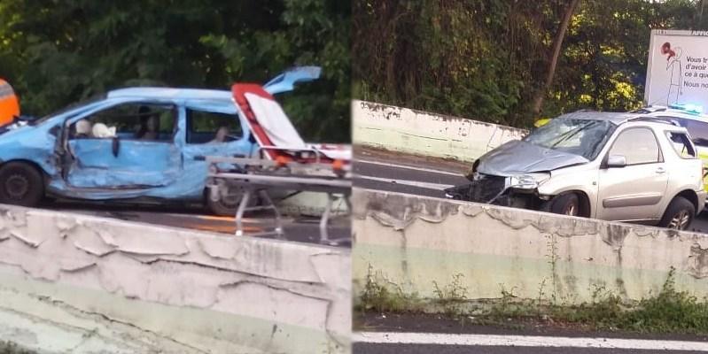 Un accident de la route à Case-Pilote fait 3 blessés dont un grave