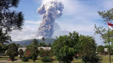Photo of Indonésie : séismes, tsunami et maintenant éruption du volcan Soputan sur l'île des Célèbes