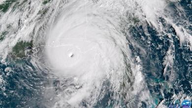Photo of Le puissant ouragan Michael avec des vents de 240km/h aux portes de la Floride
