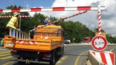 Photo of Un camion détériore un portique sur la RN9 malgré l'interdiction